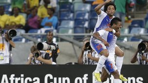 Cape Verde celebrate