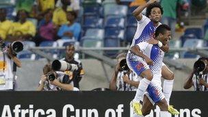 Cape Verde celebrate