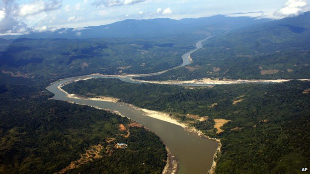 Irrawaddy river in Kachin state (2009)