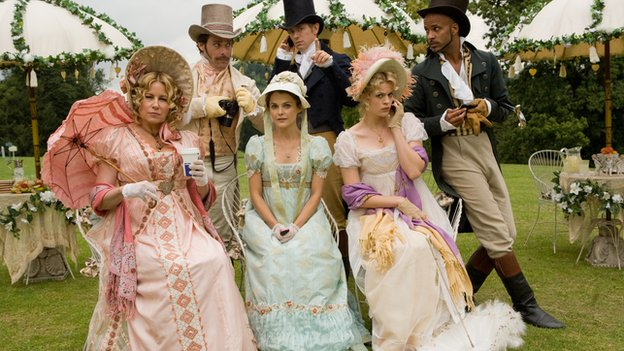 Scene from the film Austenland