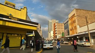 A branch of Western Union in Nairobi, Kenya