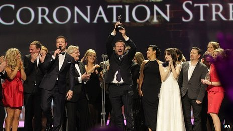 The cast of Coronation Street