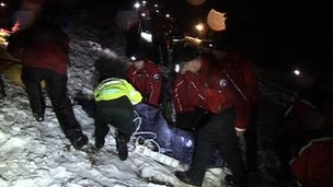 Rescue of teenager from Dartmoor