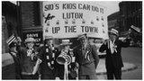 Luton Town fans in 1959