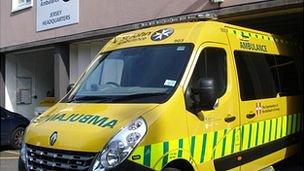 St John Ambulance in Jersey