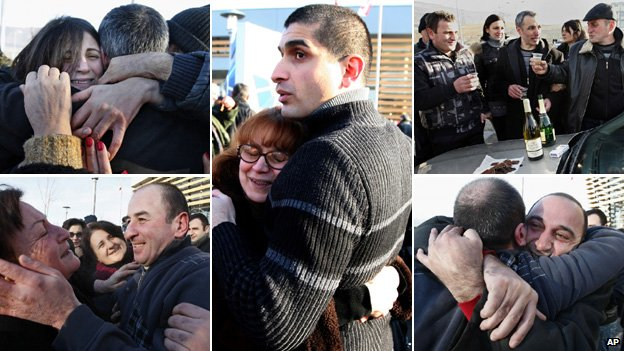 fears as inmates freed from jail(30 January 2013, BBC News Europe