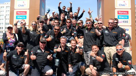 Dakar rally team