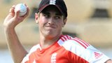 Chris Woakes training with England
