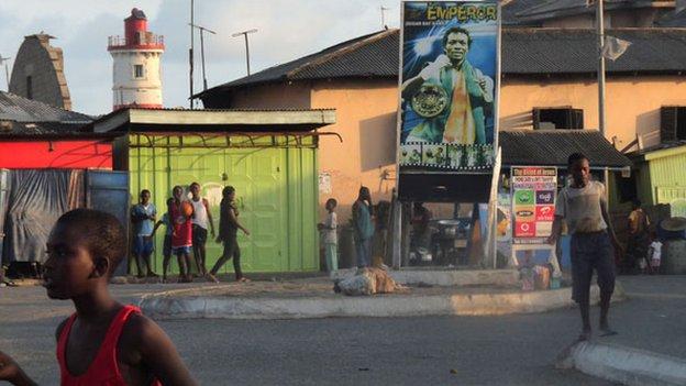 Bukom street scene