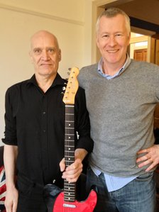 Wilko Johnson with the BBC's John Wilson
