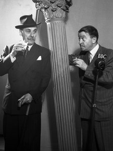 Jack Train with Tommy Handley in It&#039;s That Man Again in 1947