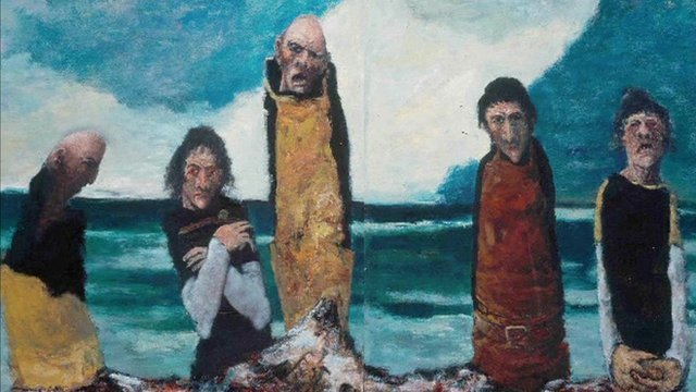 The Obsession by John Bellany