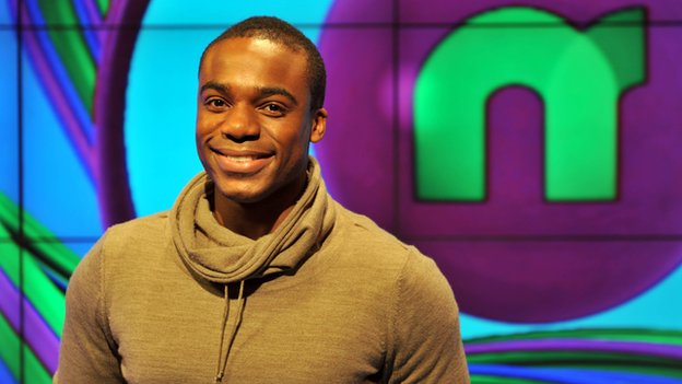 Newsround presenter Ore Oduba