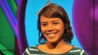 Newsround presenter Leah Gooding