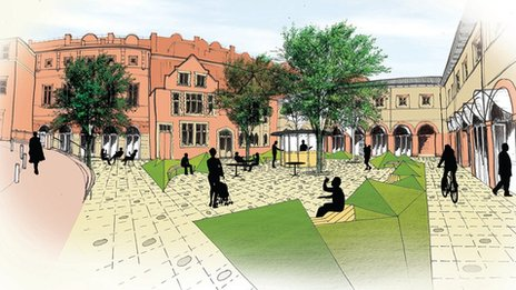 Idea for revamp of Tunbridge Wells Market Square