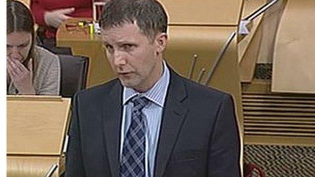 Puiblic Health Minister Michael Matheson
