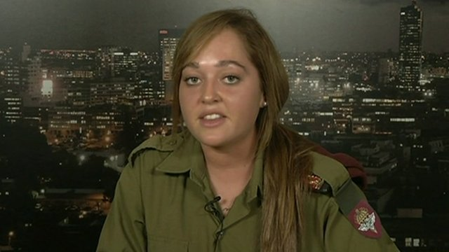 Shir Landau is a dog handler with the Israel Defence Force