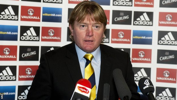 Motherwell manager and Scotland assistant coach Stuart McCall