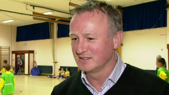 Northern Ireland manager Michael O&#039;Neill