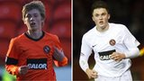 Dundee United players Ryan Gauld and John Souttar
