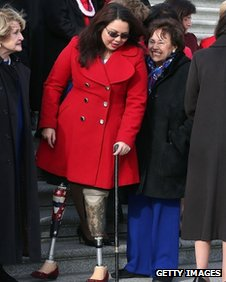 Tammy Duckworth on Capitol Hill (3 January 2013)