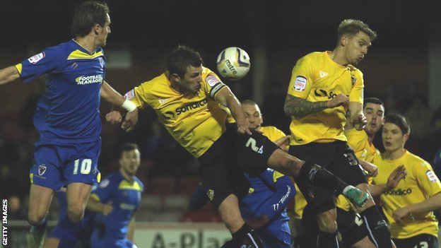 AFC Wimbledon v Port Vale