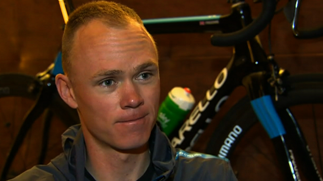2012 Tour de France runner-up Chris Froome
