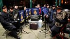 Olivia Whittaker's photograph of the Salvation Army band.