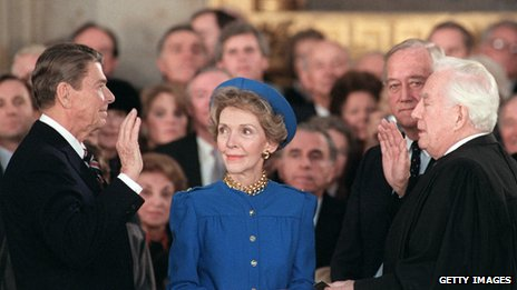 1985 presidential inauguration