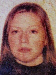 Sussex Police handout of Nicola Edgington from 2005