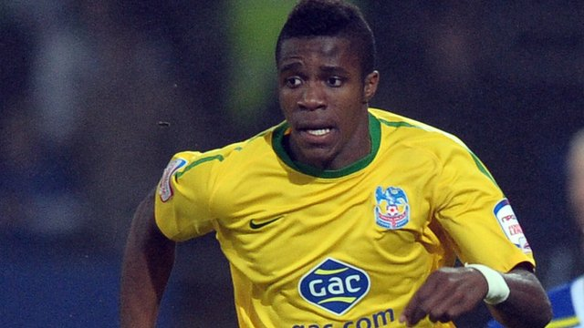 Manchester United new signing Wilfried Zaha