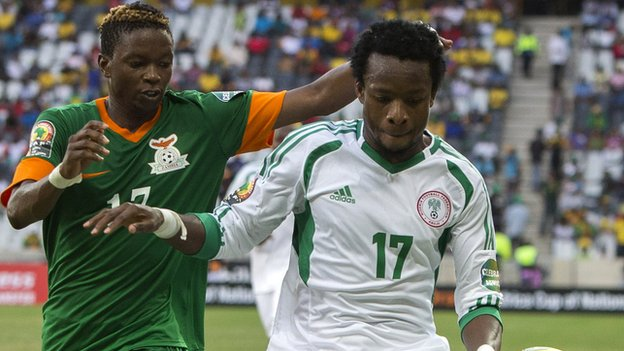 Image result for Zambia vs Nigeria Afcon