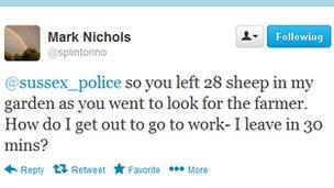 Mark Nichols tweet