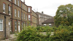 Former hospital building