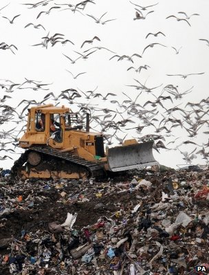 Landfill site (Image: PA)