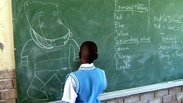 Tumelo Nkoana drawing