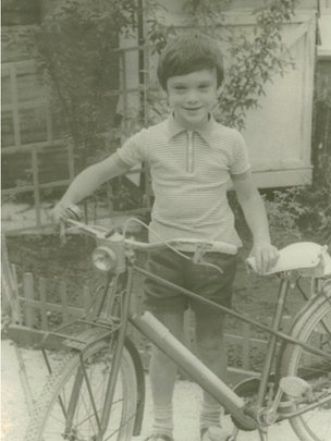 picture of James as a young child