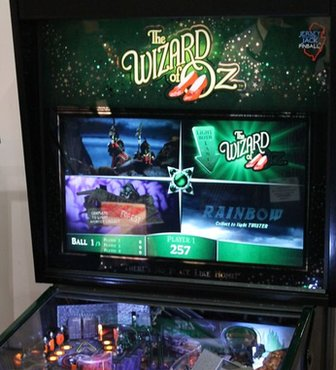 Wizard of Oz pinball machine