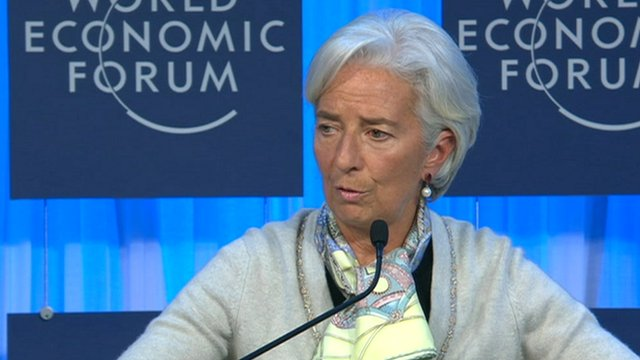 IMF director general Christine Lagarde