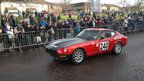 Classic car taking part in the Monte Carlo Classic Rally