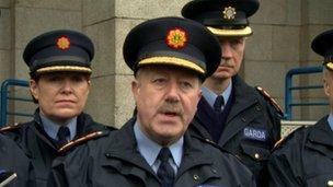 Garda Commissioner Martin Callinan