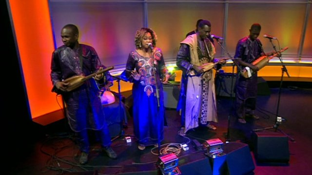 Musician Bassekou Kouyate on The Andrew Marr Show