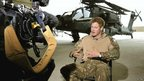 Prince Harry being interviewed