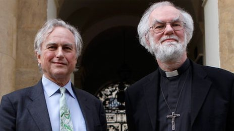 Richard Dawkins and Rowan Williams