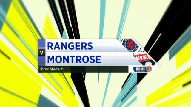 Highlights - Rangers 1-1 Montrose