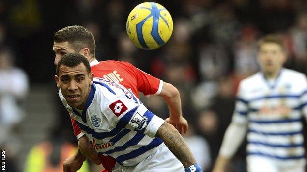 QPR defender Anton Ferdinand