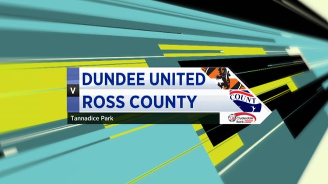 Highlights - Dundee Utd 1-1 Ross County