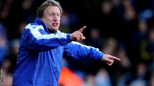 Leeds United boss Neil Warnock