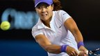 Chinese tennis player Li Na during the 2013 Australian Open