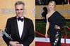 Daniel Day-Lewis and Claire Danes
